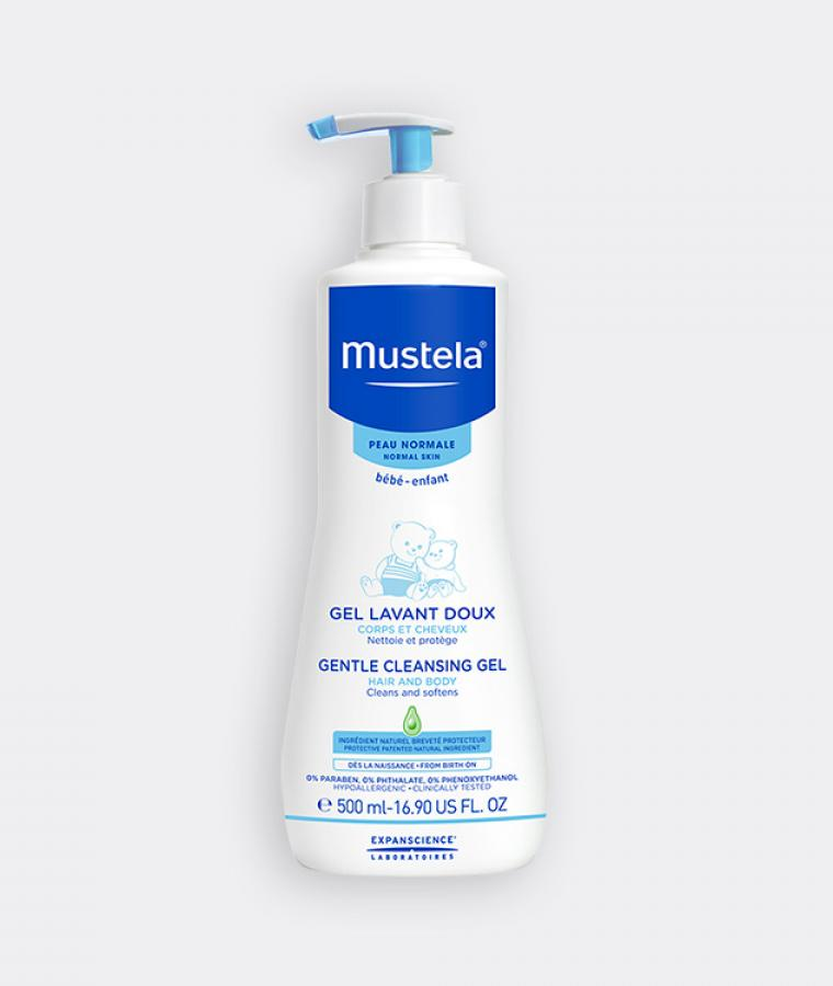 Mustela Gentle Cleansing gel for babies with normal skin